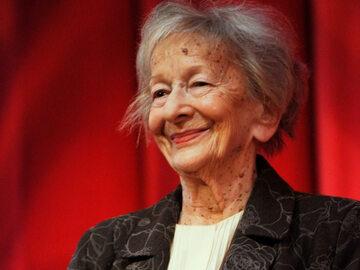 Wisława Szymborska w 2009 roku