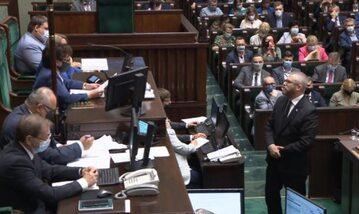 Witek kontra Braun w Sejmie