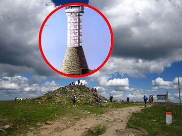 Wizualizacja wieży widokowej na Śnieżniku