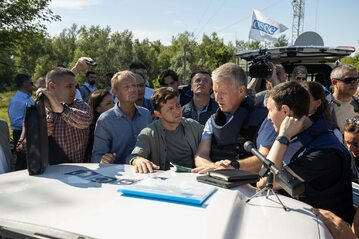 Wizyta Donalda Tuska na Ukrainie