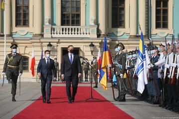 Wizyta Pary Prezydenckiej na Ukrainie