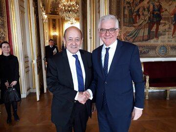 Wizyta szefa MSZ we Francji
