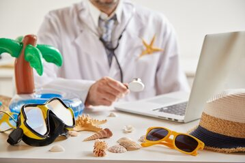Wizyta u lekarza po wakacjach