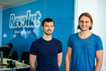 Wład Jacenko i Nik Storoński, założyciele Revoult