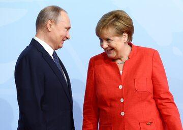 Władimir Putin, Angela Merkel