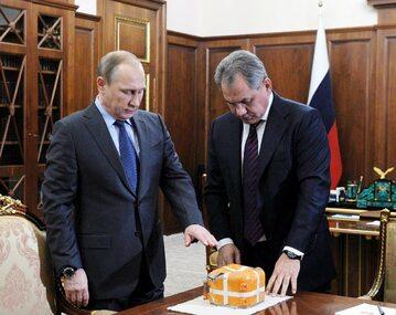 Władimir Putin i Andriej Karłow