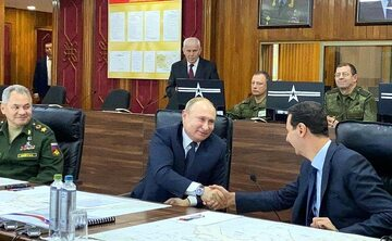 Władimir Putin i Baszar al-Asad