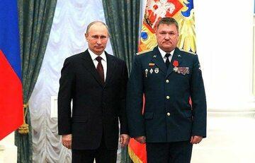 Władimir Putin i Wiktor Asapow