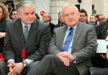 Włodzimierz Cimoszewicz i Leszek Miller