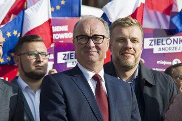 Włodzimierz Czarzasty i Adrian Zandberg