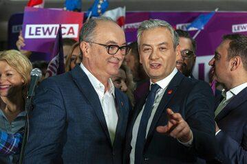 Włodzimierz Czarzasty i Robert Biedroń