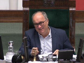Włodzimierz Czarzasty w Sejmi
