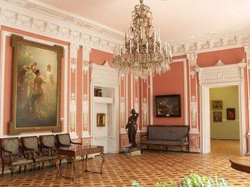 Wnętrza Lwowskiej Galerii Sztuki