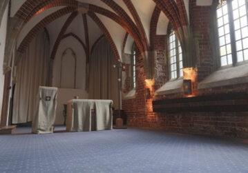 Wnętrze kaplicy akademickiej w kościele św. Wojciecha (zdjęcie ilustracyjne)