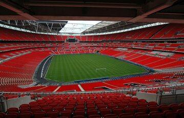 Wnętrze stadionu Wembley