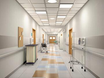 Wnętrze szpitala, zdj. ilustracyjne