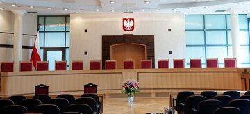 Wnętrze Trybunału Konstytucyjnego