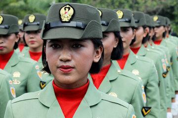 Wojskowy korpus kobiet armii indonezyjskiej