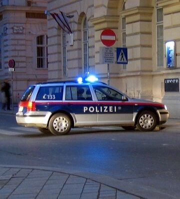 Wóz austriackiej policji
