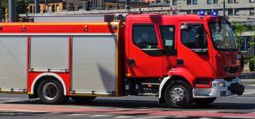 Wóz straży pożarnej, zdj. ilustracyjne