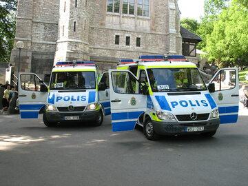 Wozy szwedzkiej policji