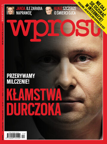 """""""Wprost"""" przerywa milczenie w sprawie Durczoka. Co jeszcze w najnowszym numerze?"""