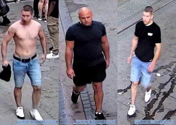 Wrocław. Policja szuka tych trzech mężczyzn