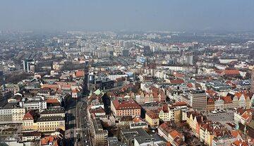 Wrocław, widok na Stare Miasto