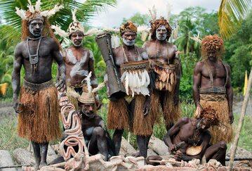 Współcześni mieszkańcy Melanezji