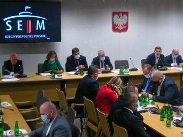 Wspólne obrady Komisji Administracji i Spraw Wewnętrznych oraz Komisji Obrony Narodowej w Sejmie