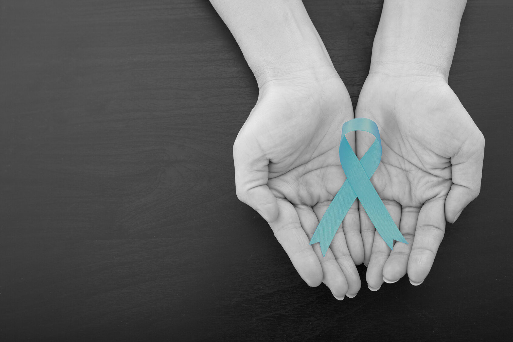 Wstążka - symbol raka jajnika