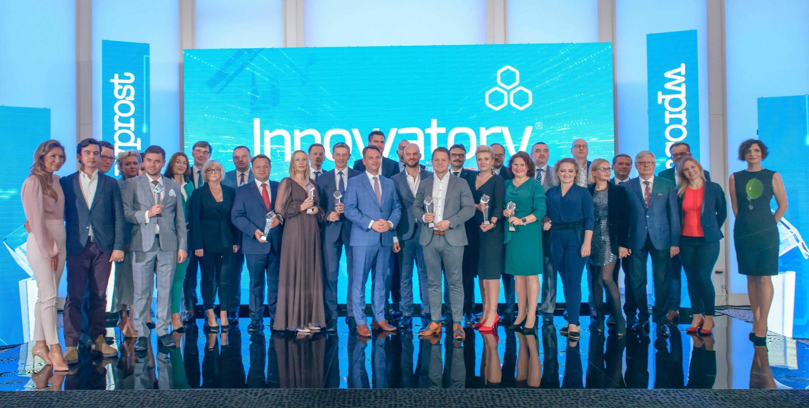 """Wszyscy nagrodzeni Innowatorami """"Wprost"""" 2021"""