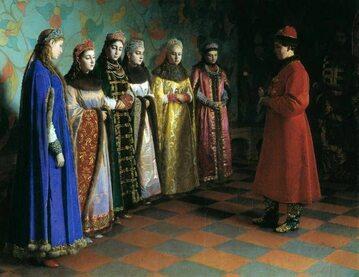 Wybór żony przez Aleksego I Romanowa