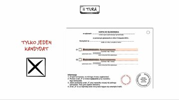 Wybory II tura - jak głosować?