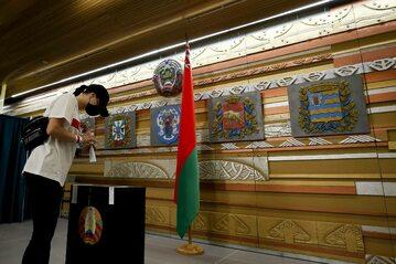 Wybory na Białorusi, głosowanie w Moskwie