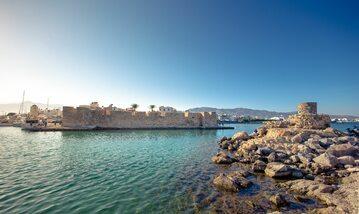 Wybrzeże Krety, miasto Jerapetra