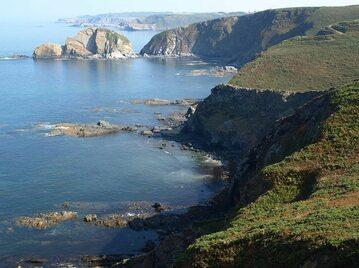 Wybrzeże w Zatoce Biskajskiej