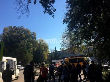 Wybuch w szkole w Kerczu