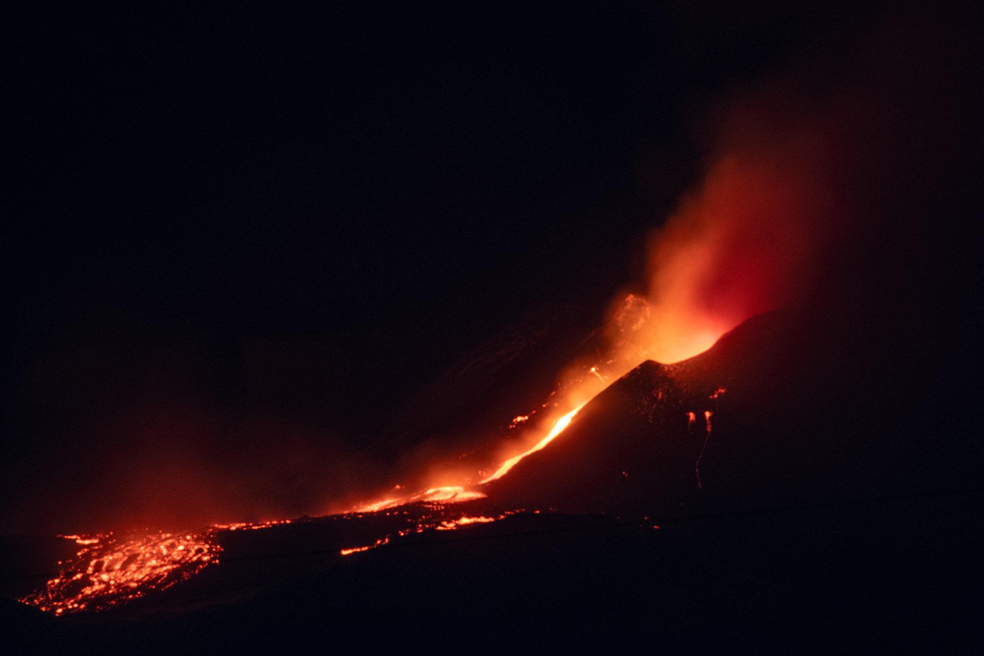 Wybuch wulkanu Etna