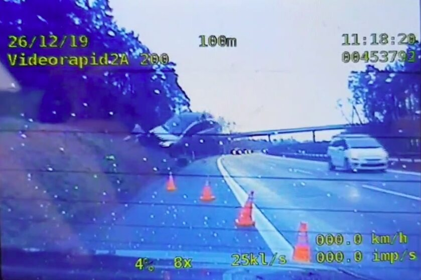 Wypadek na autostradzie A4