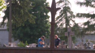 Wypadek na cmentarzu w Łopiennie koło Gniezna. Na 5-letnią dziewczynkę przewróciła się płyta nagrobna