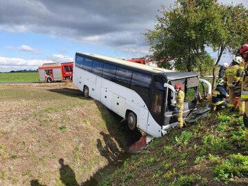 Wypadek na terenie powiatu toruńskiego