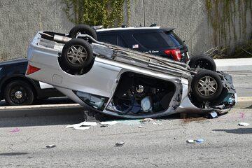 Wypadek samochody