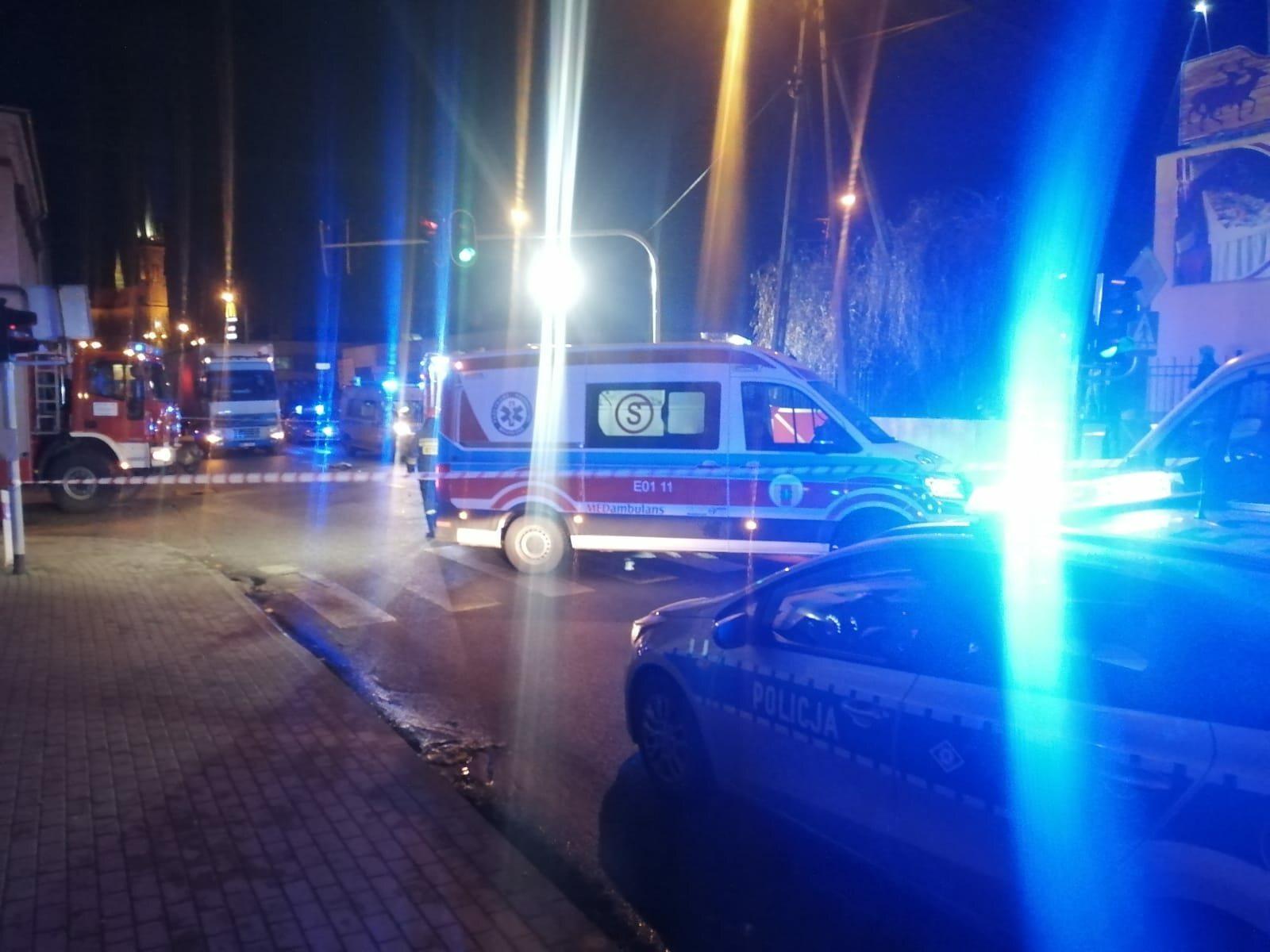 Wypadek w Aleksandrii. Nie żyje nastolatek