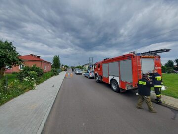 Wypadek w gminie Borki