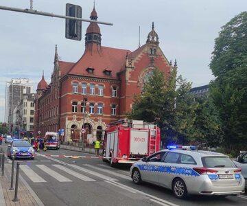 Wypadek w Katowicach