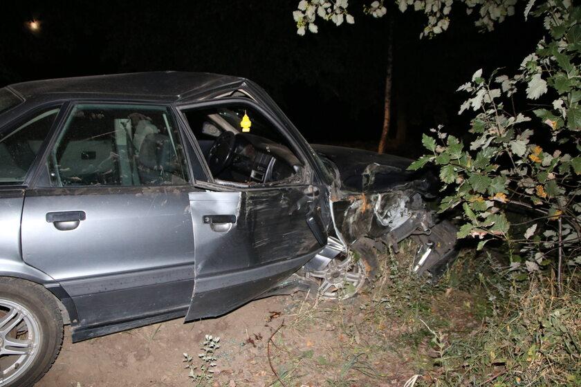 Wypadek w miejscowości Księte