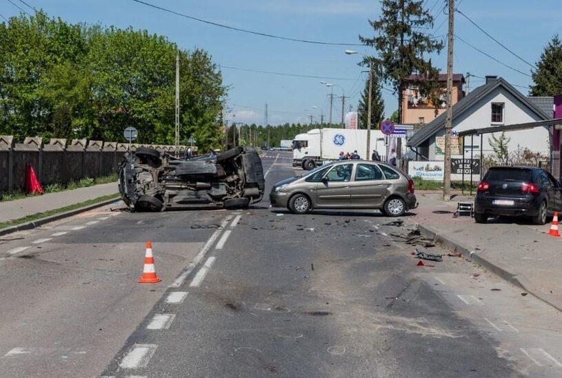 Wypadek w Ostrowi Mazowieckiej