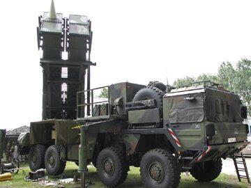 Wyrzutnia Patriot niemieckiej Bundeswehry na podwoziu MAN 8x8, zdj. ilustracyjne