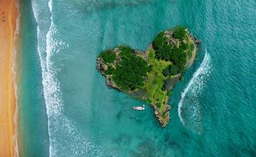 Wyspa w kształcie serca